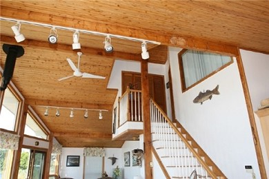 Wareham MA vacation rental - Stairs to Master Bedroom