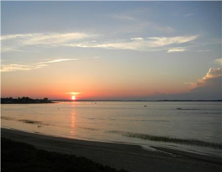 Barnstable Village Cape Cod vacation rental - A front row seat for the breath-taking sunsets over the water