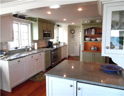 Barnstable Village Cape Cod vacation rental - Entertain or drink in the view from the new custom kitchen