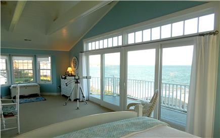Barnstable Village Cape Cod vacation rental - View from master bed - the view you will wake up to each day.