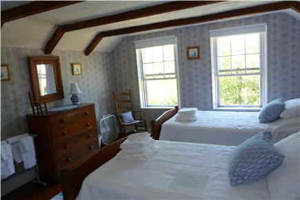 Truro Cape Cod vacation rental - Second floor twin bedroom with a spectacular view