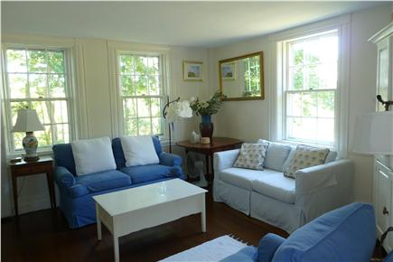 Truro Cape Cod vacation rental - Living room with TV, Apple TV, Blu-Ray player, Netflix streaming