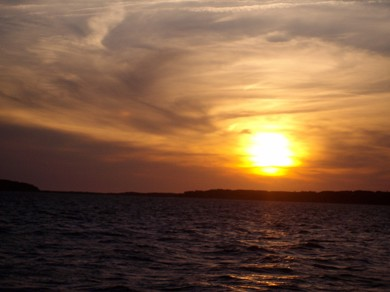 Wellfleet Cape Cod vacation rental - Sunset on the bay
