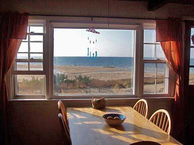 Wellfleet Cape Cod vacation rental - Breakfast with a view