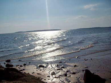 Wellfleet Cape Cod vacation rental - Sunrise on the bay