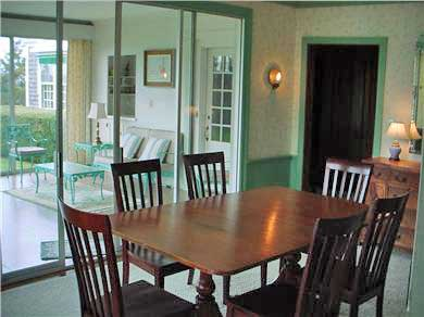 Woods Hole Woods Hole vacation rental - Dining room opening onto sunroom