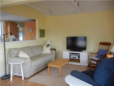 Eastham Cape Cod vacation rental - Living Room with 40 inch LCD cable TV