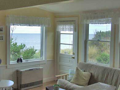 Eastham Cape Cod vacation rental - Ocean view from the kitchen sink