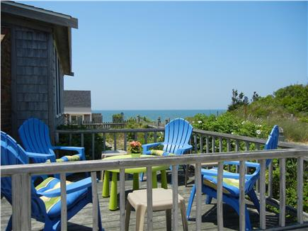 Eastham Cape Cod vacation rental - Front deck cocktail views