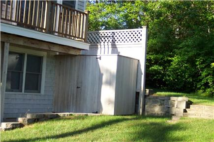 Brewster Cape Cod vacation rental - Oversized outdoor shower
