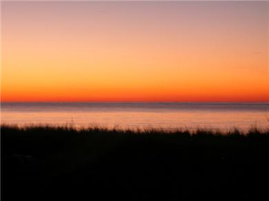 Mashpee, Popponesset Cape Cod vacation rental - Sunset views from the deck