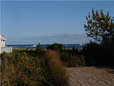 Mashpee, Popponesset Cape Cod vacation rental - View of Nantucket Sound from the deck