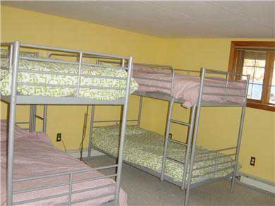 Wellfleet Cape Cod vacation rental - Fifth Bedroom with Bunk Beds