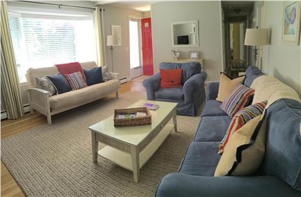 Dennis Cape Cod vacation rental - Comfortable, bright living room.