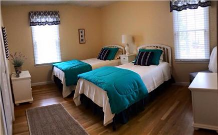 Dennis Cape Cod vacation rental - Third bedroom with two twin beds.