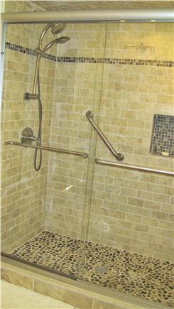 Harwich Cape Cod vacation rental - Shower in Master bath
