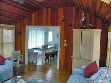 Mashpee, Popponesset Cape Cod vacation rental - Family Room open to eating area