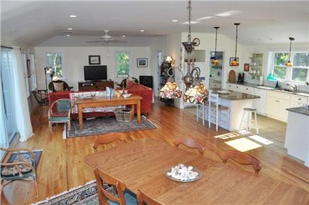 Wellfleet Cape Cod vacation rental - Living and Dining Area