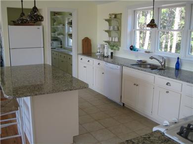 Wellfleet Cape Cod vacation rental - Spacious Kitchen with Walkin Pantry
