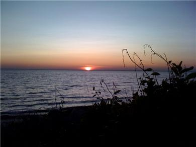 Falmouth, Sippewissett Cape Cod vacation rental - Day's end on the beach