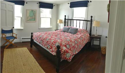 North Chatham Cape Cod vacation rental - Queen bedroom, first floor, overlooking the pool, private bath
