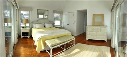 North Chatham Cape Cod vacation rental - Main Floor Master provides King bed and magnificent views