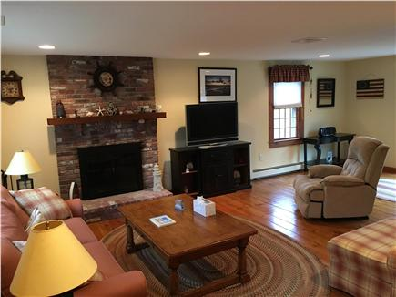 Eastham Cape Cod vacation rental - Spacious living room with large LCD flat screen HD TV