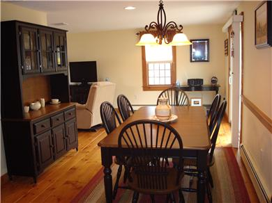 Eastham Cape Cod vacation rental - Dining room with large table