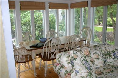 New Seabury, Mashpee New Seabury vacation rental - Bright and Spacious Dining Area