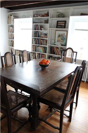 Woods Hole, Falmouth Woods Hole vacation rental - Dining room table