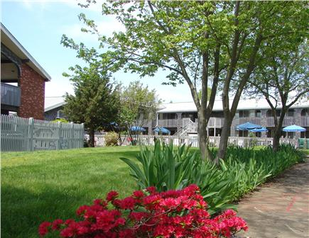 Provincetown Cape Cod vacation rental - Play games in the court yard