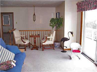 Falmouth Cape Cod vacation rental - Family room with futon