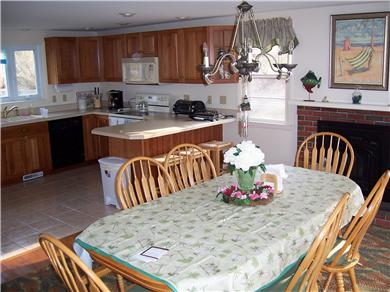 Falmouth Cape Cod vacation rental - Fully equipped kitchen and spacious dining area