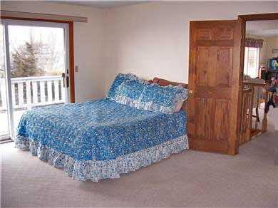Falmouth Cape Cod vacation rental - Master with king size bed and available twin with ocean view
