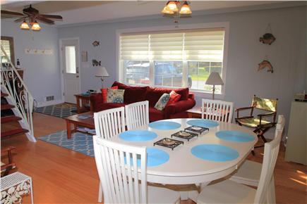 Sandwich (Town Neck) Cape Cod vacation rental - Open Living/Dining Area