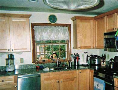 East Falmouth ( Belmar) Cape Cod vacation rental - Upgraded kitchen and appliances.
