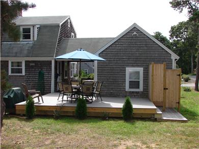 Eastham Cape Cod vacation rental - New Deck and Cedar Outdoor Shower