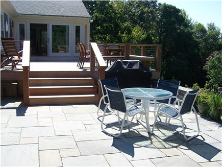Brewster Cape Cod vacation rental - New Stone Patio & Gas Grill