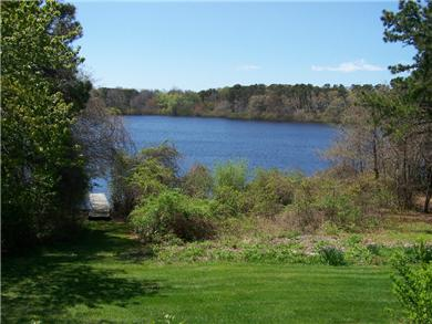 Brewster Cape Cod vacation rental - Pond View from Backyard