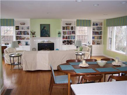 Brewster Cape Cod vacation rental - Open Living Space view from Kitchen