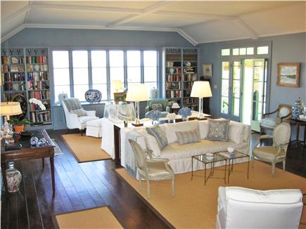 Chatham Cape Cod vacation rental - Large, beautiful, and comfortable living room.