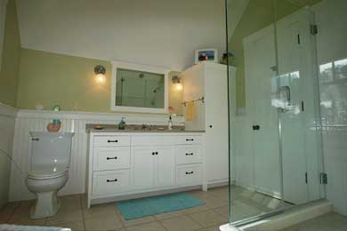 East Orleans Cape Cod vacation rental - Upstairs bathroom