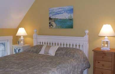 East Orleans Cape Cod vacation rental - Upstairs queen bedroom