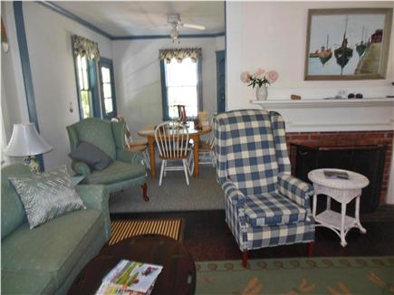 Harwich Port Cape Cod vacation rental - An inviting living room with flat screen TV and comfort