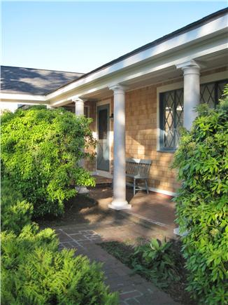 West Yarmouth - Lewis Bay Cape Cod vacation rental - Newly Renovated Home, Entry Detail & Covered Porch