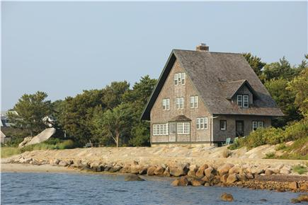 Woods Hole Woods Hole vacation rental - View of home from neighbor's dock