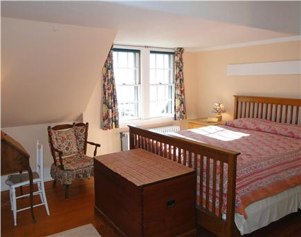 Woods Hole Woods Hole vacation rental - Large Queen bedroom upstairs, with desk and water views