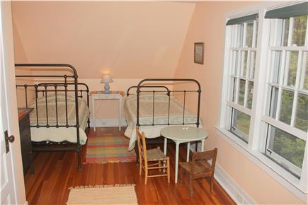 Woods Hole Woods Hole vacation rental - Third floor bedroom, with three twin beds - great for kids!