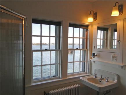 Woods Hole Woods Hole vacation rental - Full bath with walk-in shower and tub - and great water views!