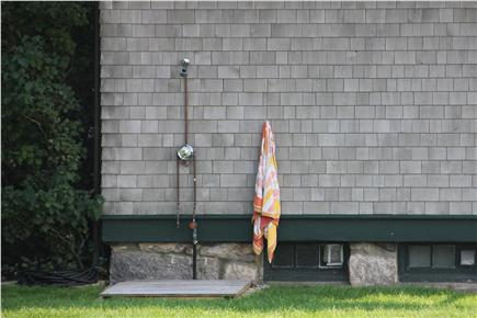 Woods Hole Woods Hole vacation rental - Wash off after the beach with our (new) outdoor shower